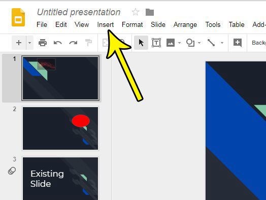slide numbering in google slides