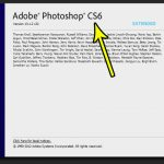 how to check your photoshop version