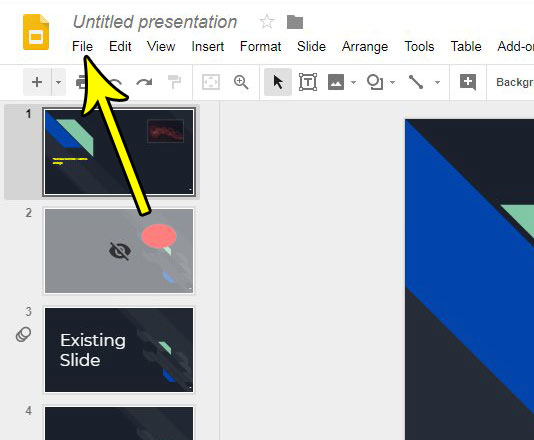 how to create powerpoint copy of google slides file