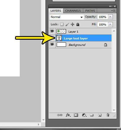 select the layer to copy in photoshop