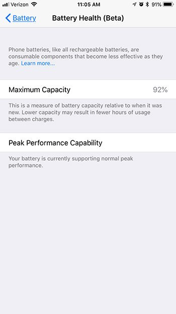 does my iphone battery need to be replaced