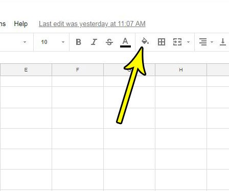how to add color to cells in google sheets live2tech