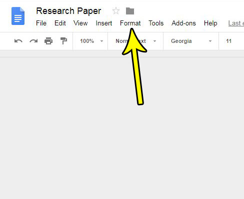 make text uppercase google docs