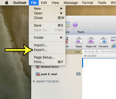 save mac outlook contacts to file