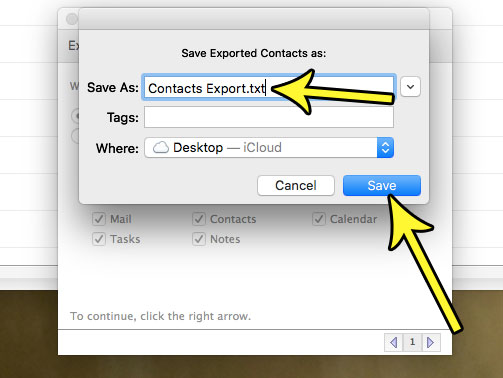 how export contacts from outlook mac