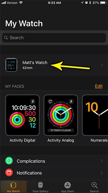 put apple watch in lost mode