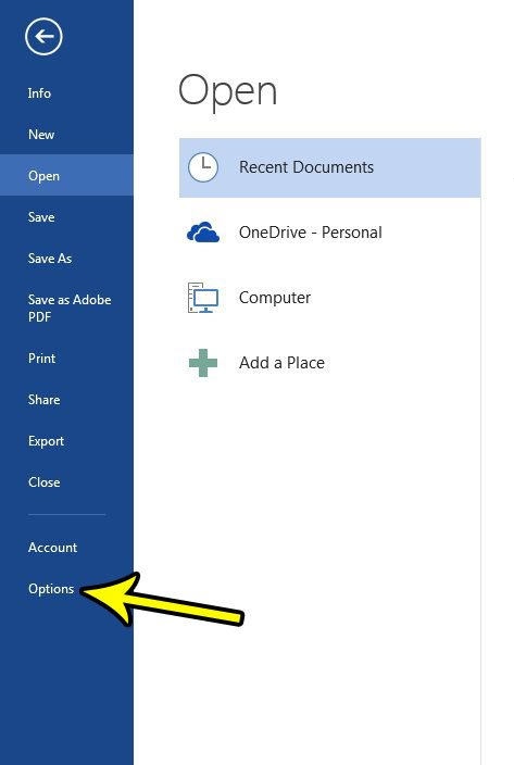 change the number of minutes between autosaves in word 2013
