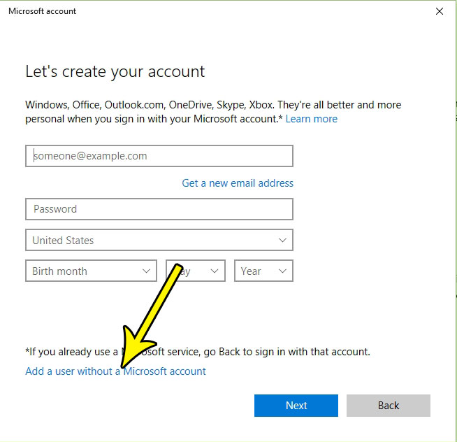 How To Create A New User Account In Windows 10 Without A