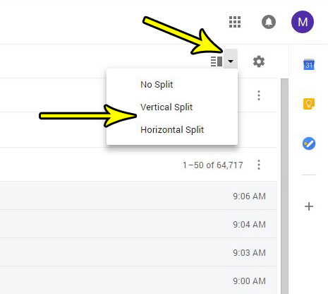 how view preview of email in gmail