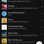 how to clear recent search in spotify on an iphone