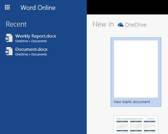 include page numbers in word online document