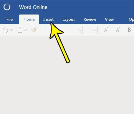 word online where are page numbers