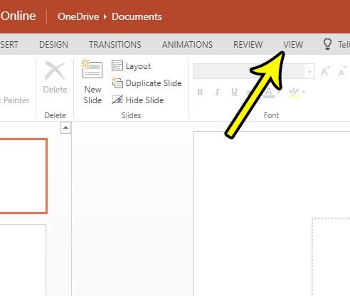 how to view presentation in powerpoint online