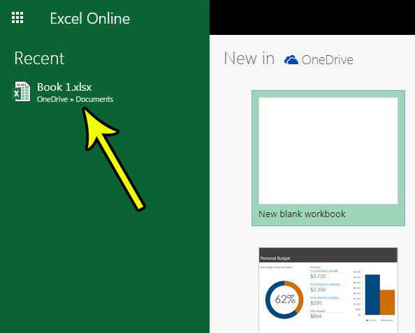 rename an excel online file