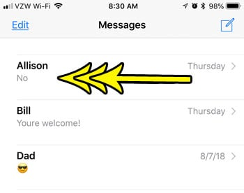 What Does Hide Alerts Mean for a Text Message on My iPhone