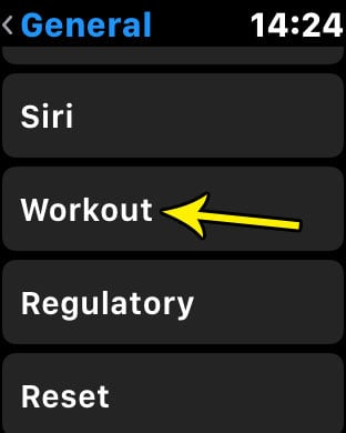 apple watch workout autopause
