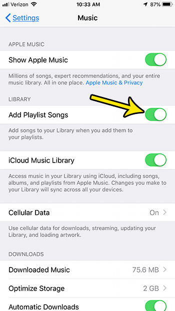 add playlist songs to library apple music