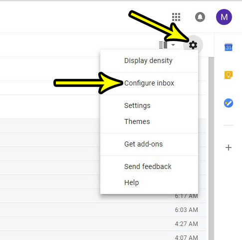 how to add or remove tabs in gmail