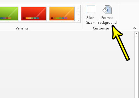 how to hide graphics in powerpoint theme