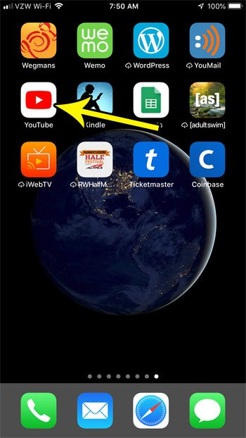 how turn off youtube subscription notifications iphone