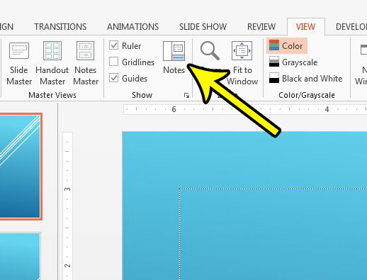 how to show speaker notes in powerpoint
