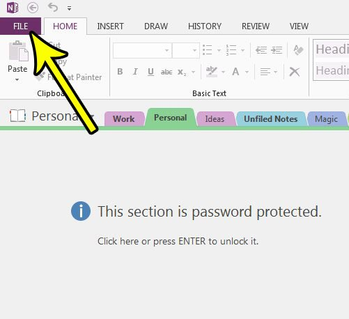 how to add page tabs to the left in onenote 2013
