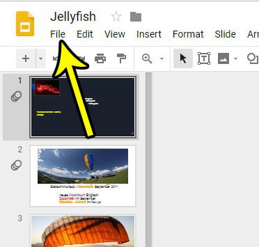 how to print speaker notes in google slides