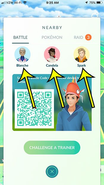 choose the team leader for the battle