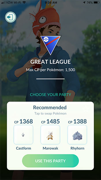 how to battle a team leader in pokemon go