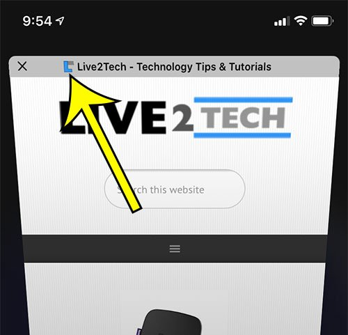 how to hide icons in iPhone Safari tabs