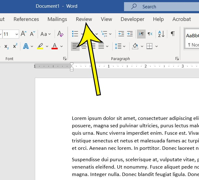 microsoft word character count