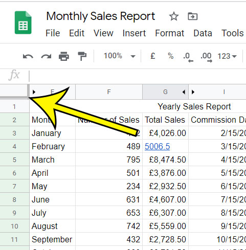 locking rows in Google Sheets