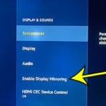how to turn on Fire TV Stick display mirroring