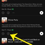 how to download a Spotify podcast episode to an iPhone 11