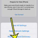 how to sort iPhone apps alphabetically